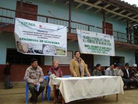 ESCAES concluye 6 años de intervención en 8 comunidades de la Microcuenca del Chotano – Cutervo