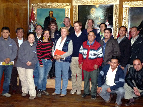 Visita Delegación Xunta de Galicia y Ayuda en Acción
