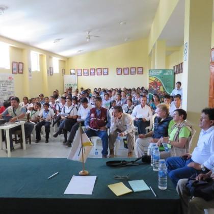PRODUCTORES Y PRODUCTORAS DE SUYO-AYABACA-PIURA, SE PREPARAN FRENTE  AL CAMBIO CLIMATICO