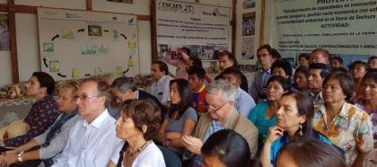 ONG ESCAES RECIBE VISITA DE EMBAJADORES DE LA UNIÓN EUROPEA AL PROYECTO DE COOPERACIÓN  ESPAÑOLA QUE VIENE EJECUTANDO EN EL LITORAL DE SECHURA